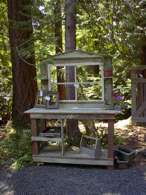 DIY Potting Shed Tables On Pinterest Benches